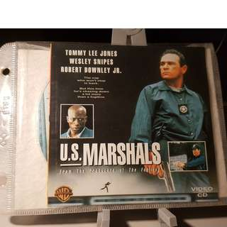VCD - U.S. MARSHALS (1998) the fugitive part II welsey snipes tommy lee jones action crime thrilller