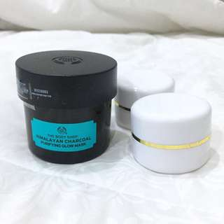 himalayan charcoal purifying glow mask tbs