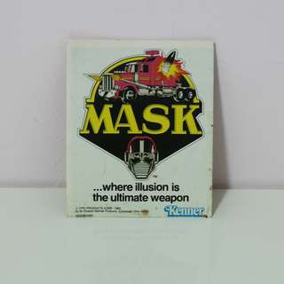 M.A.S.K MASK Catalogue ORIGINAL c8 - Transformers