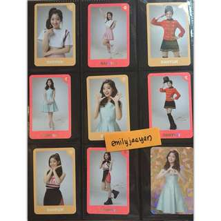 Dahyun Twiceland Encore Photocard Set