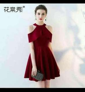 Cocktail Dress Freesize S to L