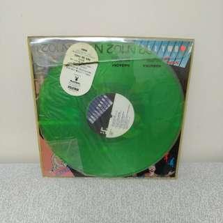 80年代 何東disco LP 黑膠唱片 透明綠色