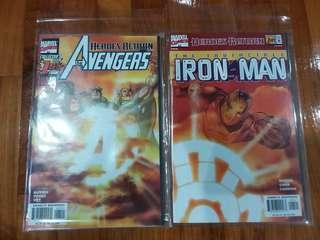Marvel - The Avengers / Ironman - Heroes Return #1 (Sunburst Cvr)