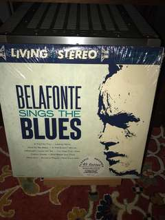 Audiophile 4LP 45RPM Classic Records Belafonte Sings The Blues