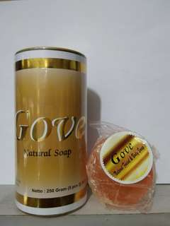 Gove ( Natural Facial & Body Soap ) 1 Box isi 5 batang @50gr
