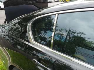 Lexus GS300 Chrome Door Pillars (Window Visor Version)