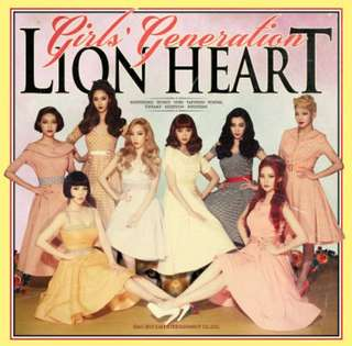 Girls generation lion heart album