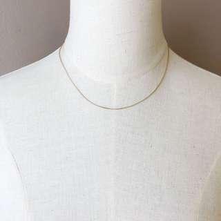 Danish Brand Pilgrim Rosegold Simple Necklace