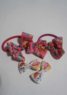 Shopkins hair accessories