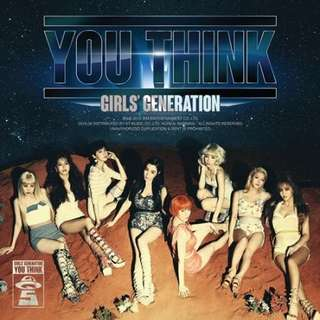 Girls generation you think album