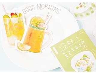 (PO) Summer Drinks Postcards/ Post Cards