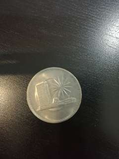 One ringgit 1981 coin