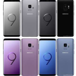Samsung S9 - recontract (choose your colour!)