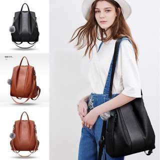 Tas Ransel Gendong Backpack Tas Fashion Wanita Cewek Impor Code 3112