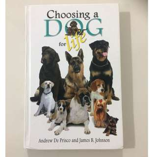 Choose a Dog for Life Book