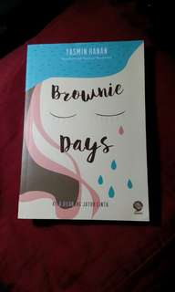 Brownie Days by Yasmin Hanan. ( novel ) #horegajian