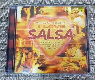 I Love Salsa CD