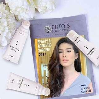 Produk kecantikan dari ertos facial treatment
