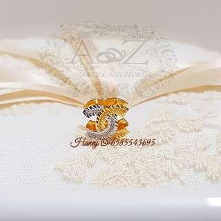 Chanel Bead 916 Gold Charm