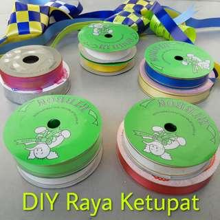 Fancy / Shiny Ribbon 2cm (Jumbo Set of 2) #rayaletgo