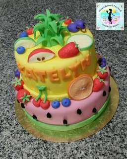 Tutti Frutti Theme Cake for a Kiddie Party