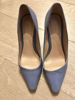 Nine West 淺藍色 高跟鞋 (US5 size) baby blue high heels shoes