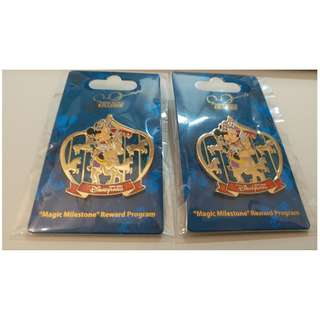 Disney Pins Mickey Mouse Minnie 迪士尼徽章 襟章 廸士尼 米奇老鼠 米妮