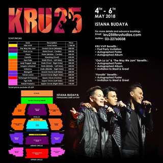KRU 25 Anniversary Concert
