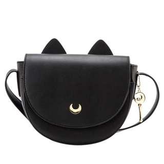 [台灣代購] Grace Gift 美少女戰士露娜立體貓耳馬鞍包 Sailor Moon Crystal Luna Saddle Bag