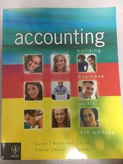 Accounting Textbook (building business skills 4th edition) | Wiley |