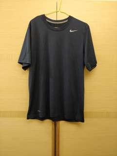 Nike Dri-Fit 男生深藍色運動衣 Size M 正品