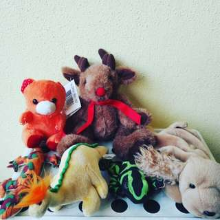 Sot toys animals set