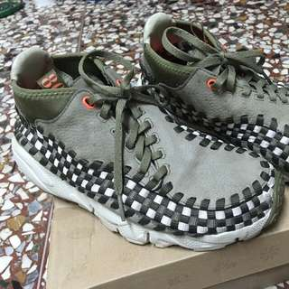 Nike footscape woven 編織 us6 nmd yeezy