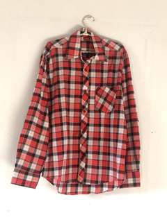 REPRICE  red square shirt