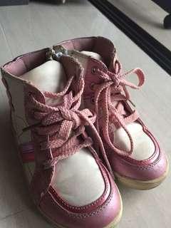 Hi Cut Top Zip kids shoes