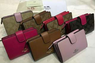 Authentic Coach Wallets and card holder
