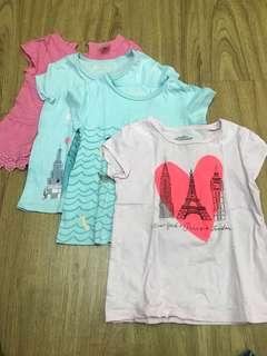 Set of 4 osh kosh b'gosh tshirt