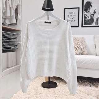RESERVED - Ribbed Sweatshirt