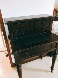 Vintage writing desk (solid teak)