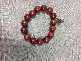 紅酸枝木珠