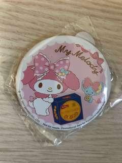 全新 未拆包裝 Sanrio My Melody mirror 鏡