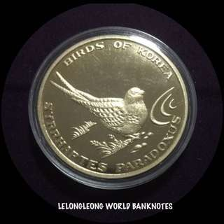 North Korea 20 Won Syrrhaptes Paradoxus Coin