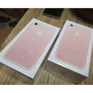 💥BRAND NEW iPhone 7 RoseGold - 128GB💥