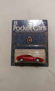 TOMY Pocket Cars Porsche 928 RED