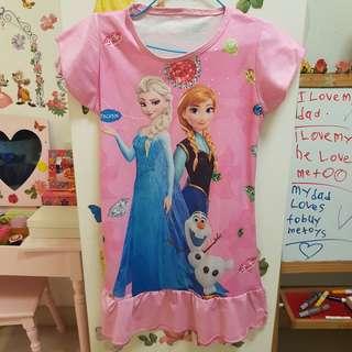 Disney Princess Frozen pink dress