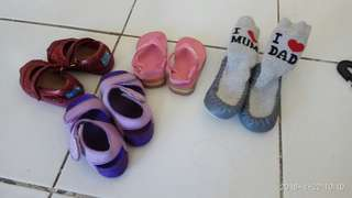 Shoes for baby girl take all