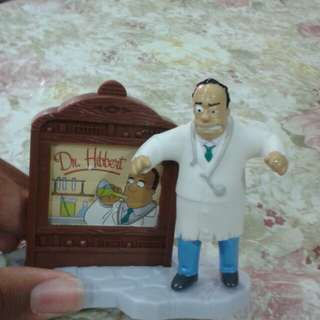 Dr Hibbert from the Simpsons