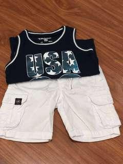 Terranova Shorts and Sando for boy