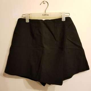 黑色 西裝裙褲 Black skirt