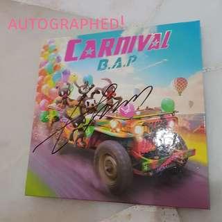 Autographed BAP Carnival CD